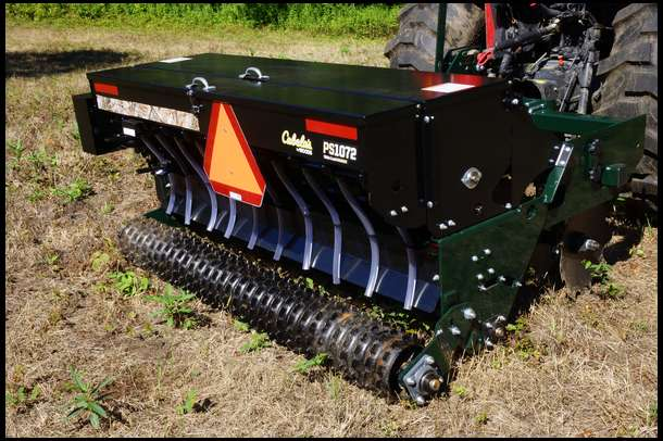 The Cabelas by Woods Precision Seeder allows you to get seed delivered with  absolute precision and - New Cabelas Precision Seeder Property Update - By DeerBuilder.com